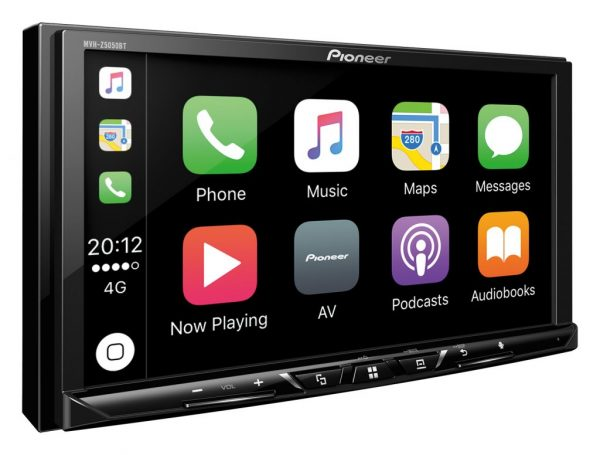 Pioneer Avh Z5100dab Touch Screen Multimedia Player With Apple